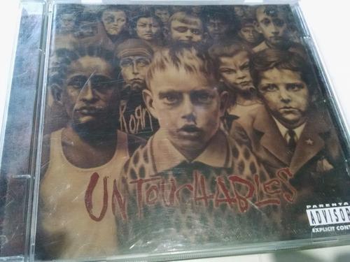 cd original korn untouchables 2002