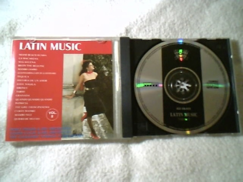 cd original ( latin music vol. 2 ) impecável - 1992