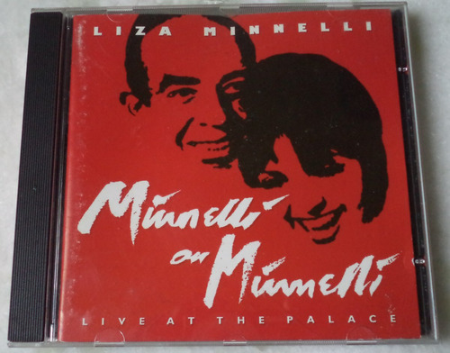 cd original liza minnelli live at the palace +