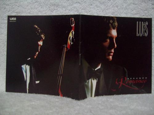 cd original luis miguel- segundo romance
