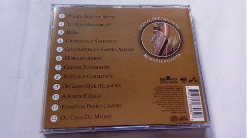 cd original - luiz gonzaga -  óia eu aqui de novo
