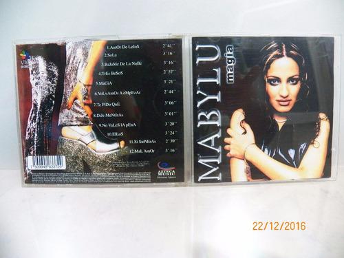 cd original mabylu magia