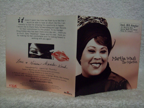 cd original martha walsh- the collection