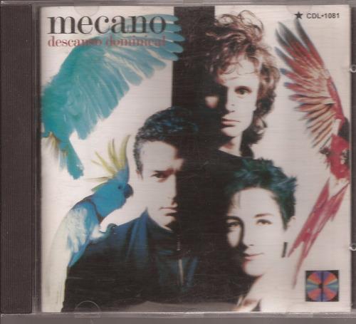 cd original mecano  descanso dominical