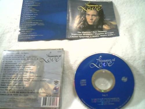 cd original  (  moments of love )