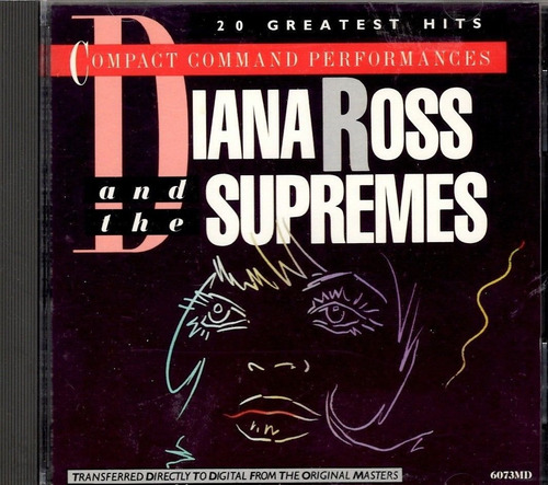 cd original motown rhythm blues r&b diana ross + supremes