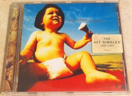 cd original new importado the cure the hits singles 13.500