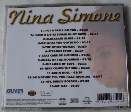 cd original nina simone here comes the ....