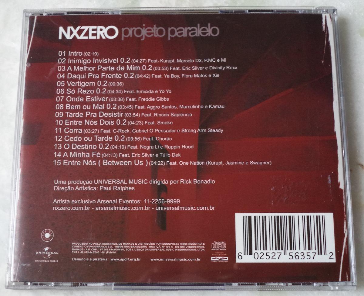 cd projeto paralelo do nx zero para