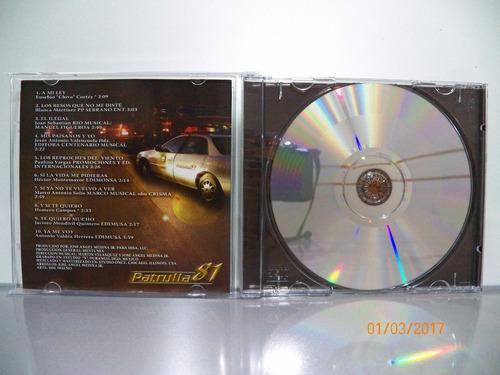 cd original patrulla 81 a mi ley