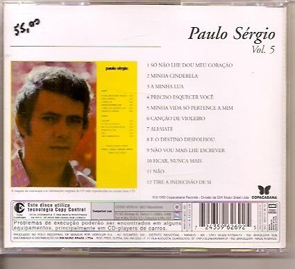 cd original - paulo sérgio vol. 5