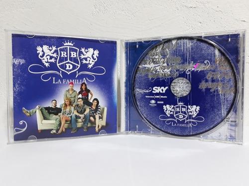 cd original rbd sky la familia cd y dvd nuevo y empaquetado