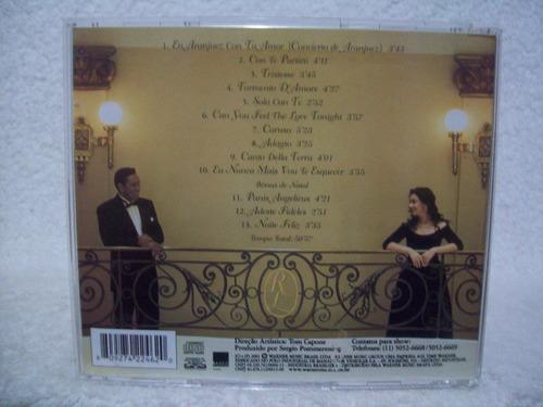 cd original rinaldo & liriel- romance