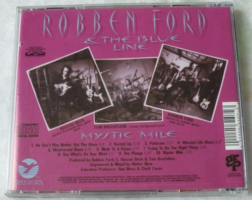 cd original robben ford e the blue line