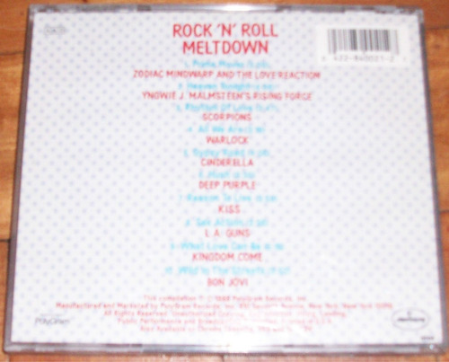 cd original rock 'n' roll meltdown