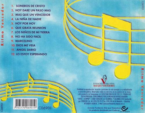 cd original salsa cristiana ritmo vencedor