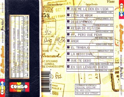 cd original salsa el gran combo pasaporte musical