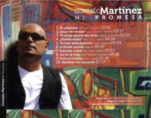 cd original salsa gonzalo martinez mi promesa