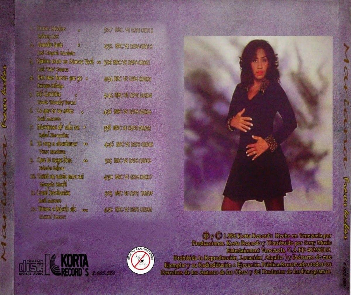 Cd Original Salsa Mariana Frases Hechas