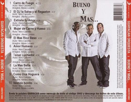 cd original salsa orquesta guayacan bueno y mas