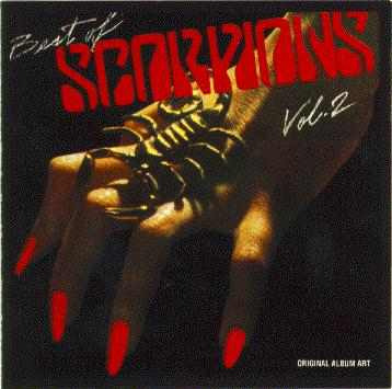 cd original scorpions - best of scorpions vol.2