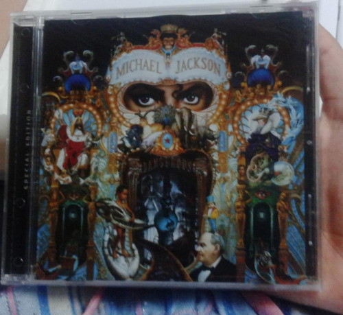 cd original sellado michael jackson dangeruos