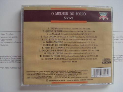 cd  original - sivuca seleção de ouro - o melhor do forró