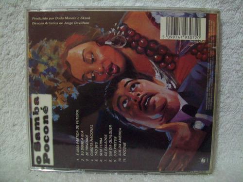 cd original skank- o samba poconé