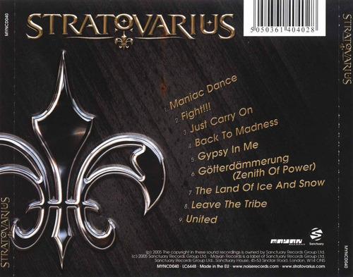 cd original stratovius - stratovarius