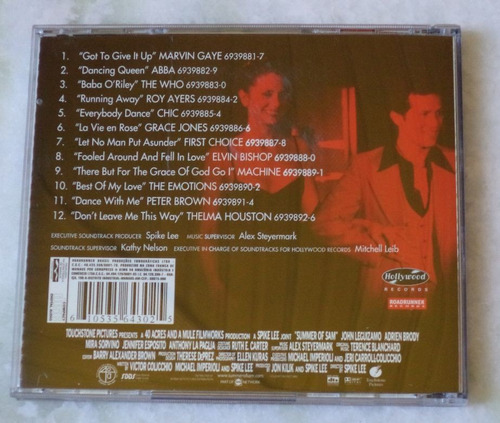 cd original summer of sam trilha sonora