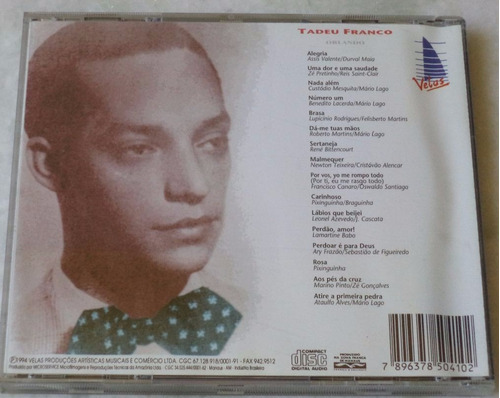 cd original tadeu franco orlando
