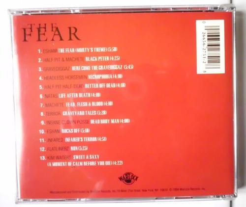 cd original the fear trilha  sonora