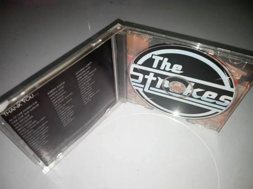 cd original the strokes is this it musica