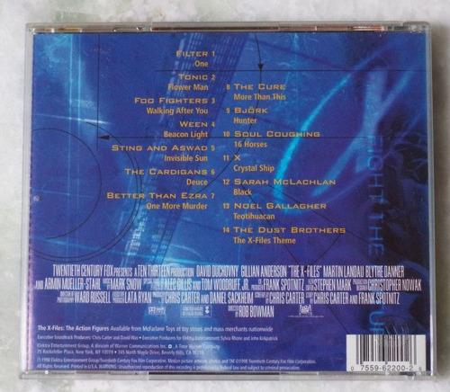 cd original the x files the album trilha sonora