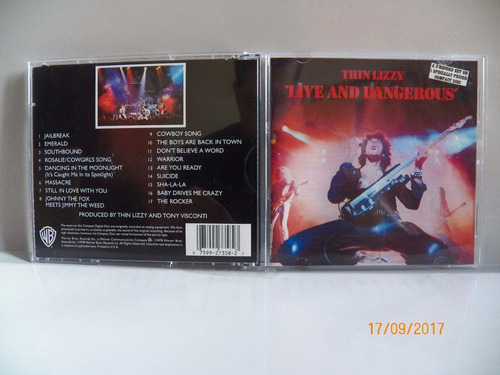 cd original thin lizzy live and dangerous