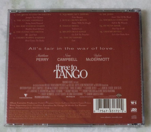 cd original three to tango trilha sonora