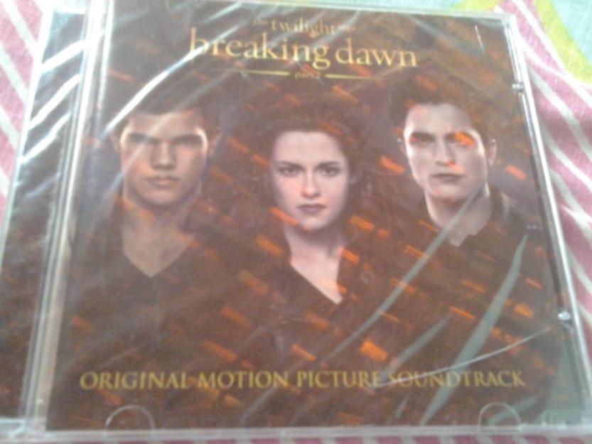 cd trilha sonora amanhecer parte 2