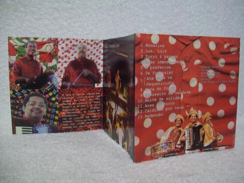 cd original trio virgulino- forró e paixão