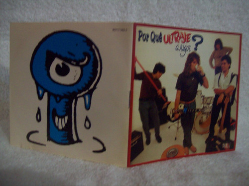cd original ultraje a rigor- por quê ?- 1ª edição- 1990