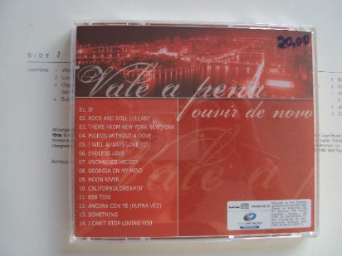 cd  original -  vale a pena ouvir de novo - internacional
