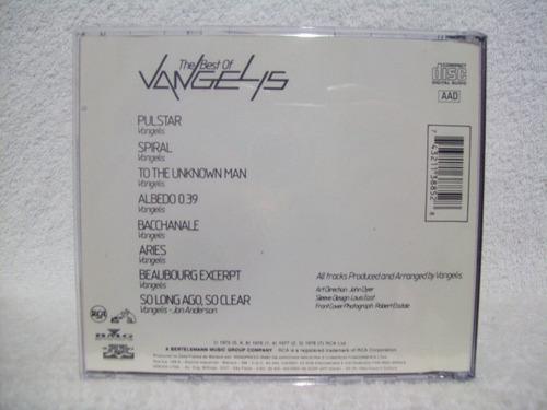 cd original vangelis- the best of vangelis