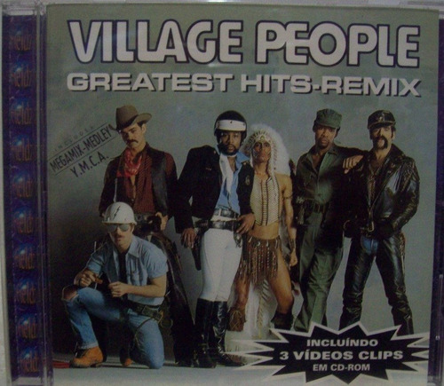 cd original - village people - greatest hits remix