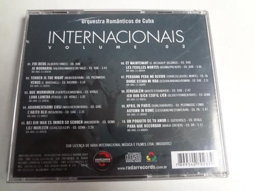 cd orquestra romanticos de cuba internacional vol. 02