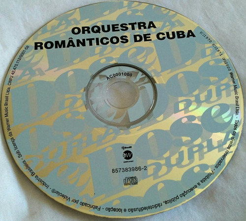 cd orquestra românticos de cuba (2 lp's dose dupla)