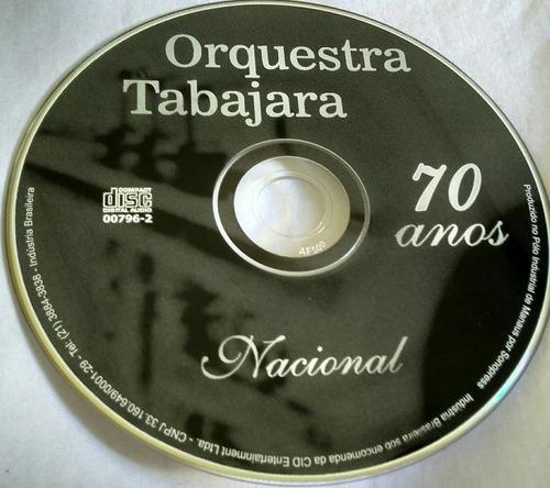 cd orquestra tabajara 70 anos nacional
