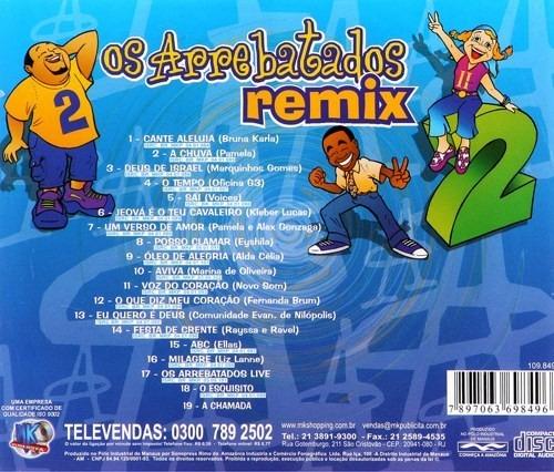cd arrebatados remix gratis