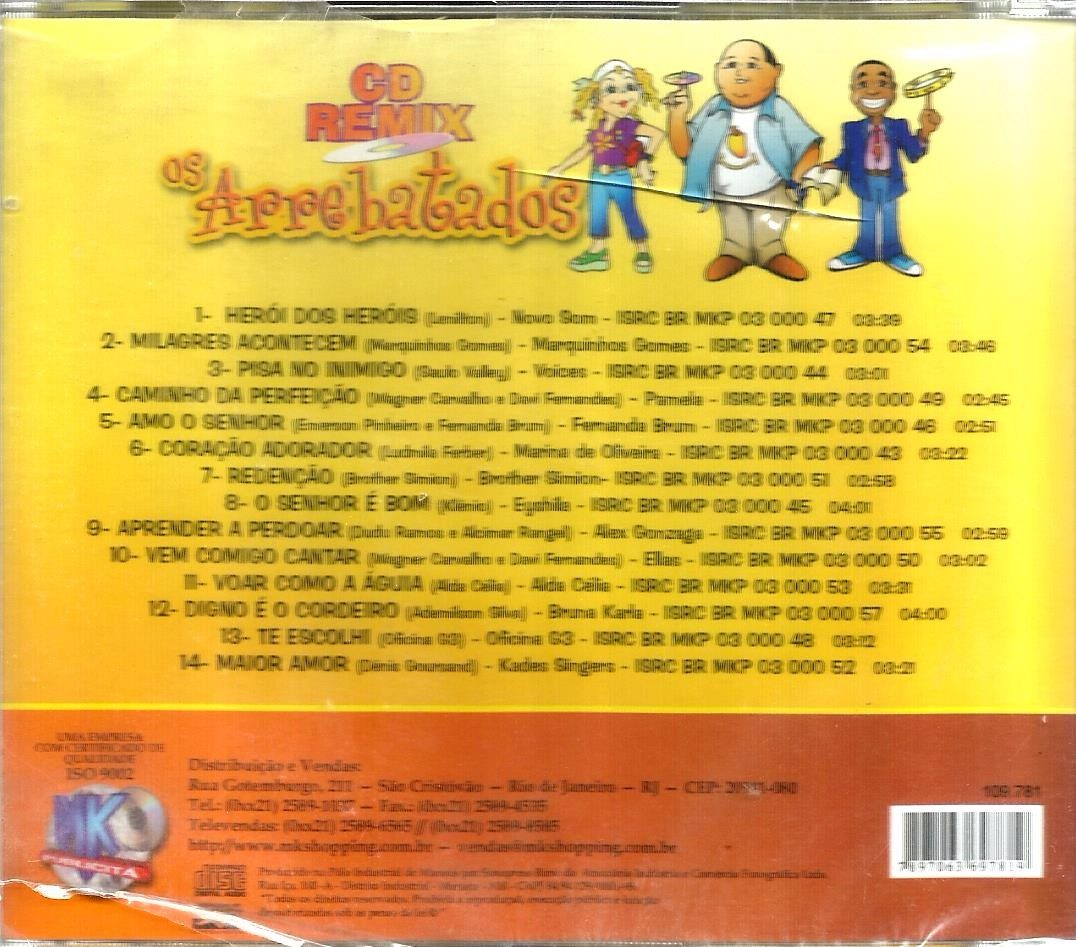 cd os arrebatados remix 5