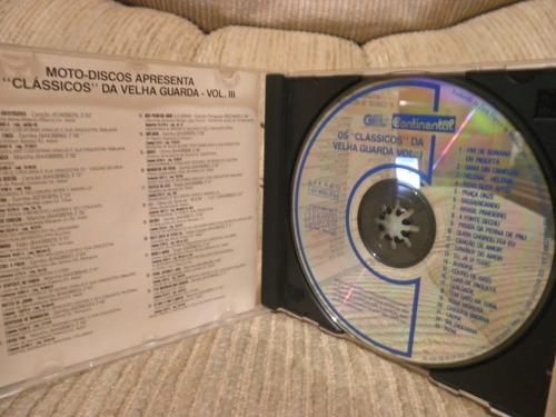 cd os classicos da velha guarda volume 3 moto discos