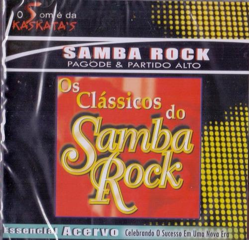 cd  os clássicos do samba rock - pagode e partido alto