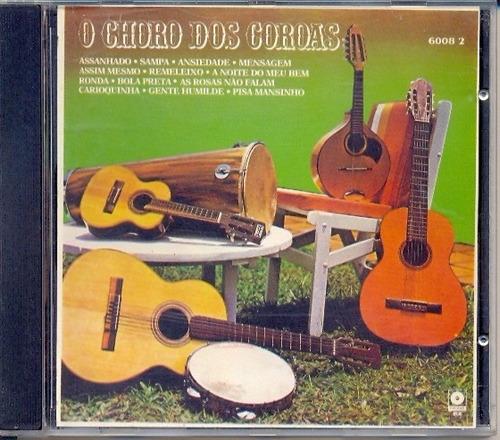 cd - os coroas: o choro dos coroas(1995)